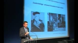 Conférence Isègoria Dominique Jacomet - L'industrie du luxe, entre héritage et innovation