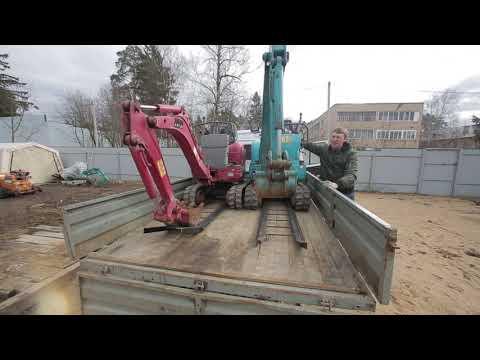 mini excavator 3, проверяем фактическую глубину копания мини-экскаваторов, kubota U008/U10-3