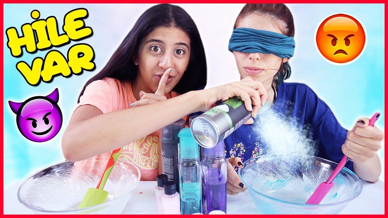 Slime Şakası Gözü Kapalı Slime Challenge Dila Kent