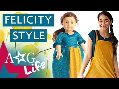 Felicity Spring Lookbook 2017! | #TeamAGLife Episode 78 | American Girl