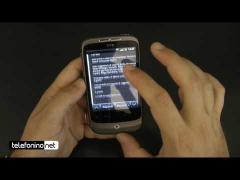HTC Wildfire videoreview da Telefonino.net