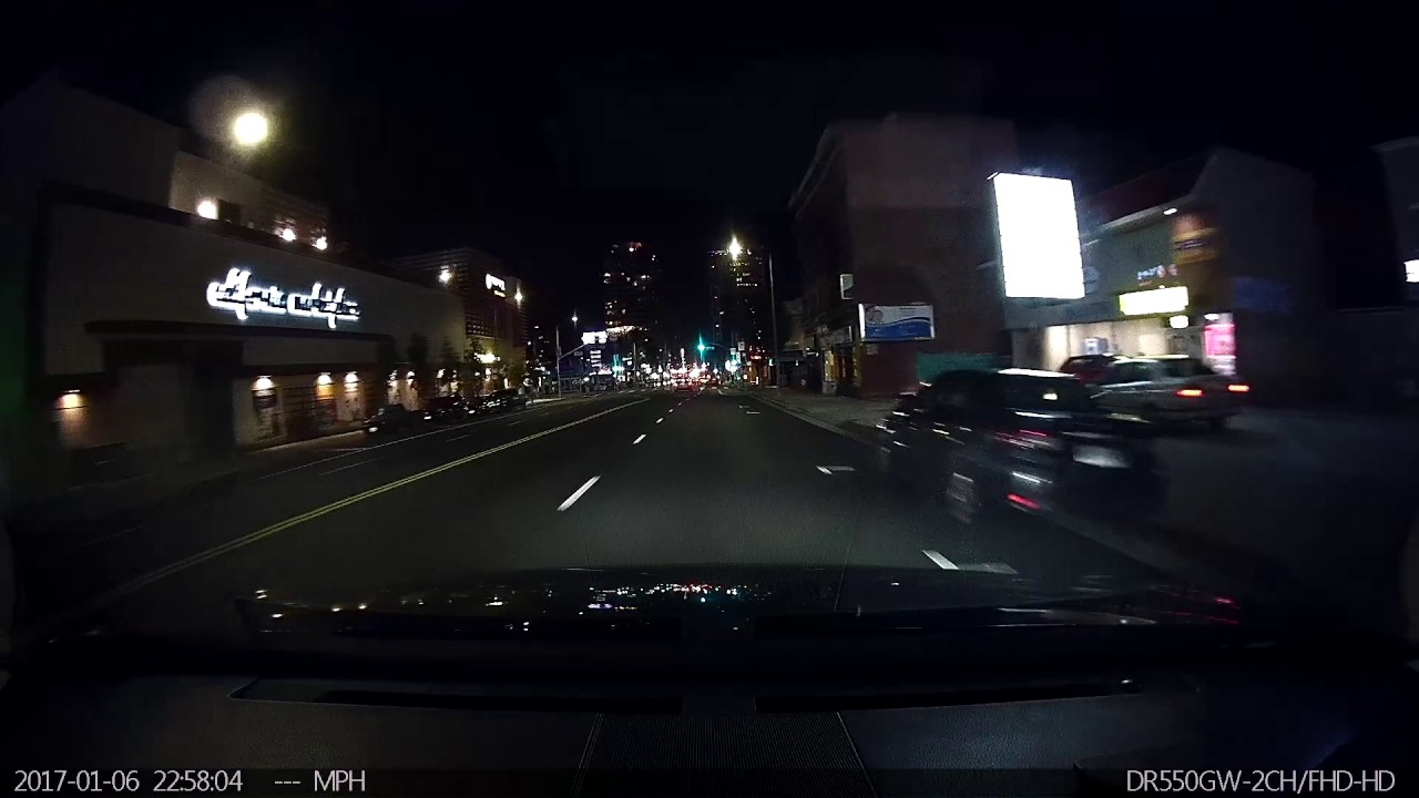 Actual Drive Thru American Fast Food Restaurant. No pranks. Driving at night in Los Angeles. Dashcam