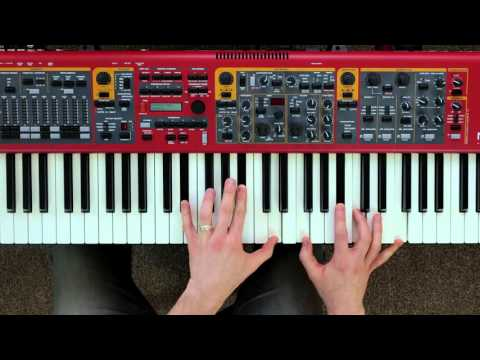 Matt Cossey Tutorial Series: Nord Stage 2 EX - String Resonance and Pedal Noise