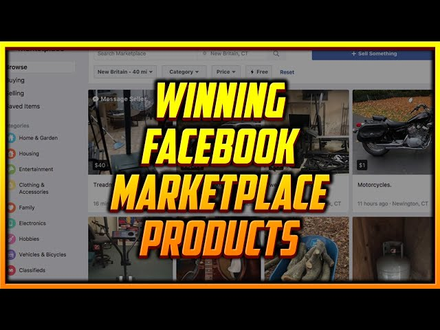 What's the Best Way to Find Winning Products for Facebook Marketplace