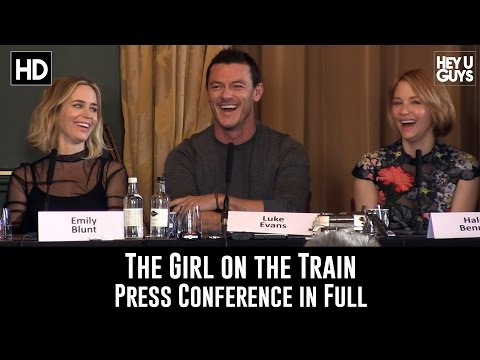 The Girl on the Train Press Conference in Full - Emily Blunt