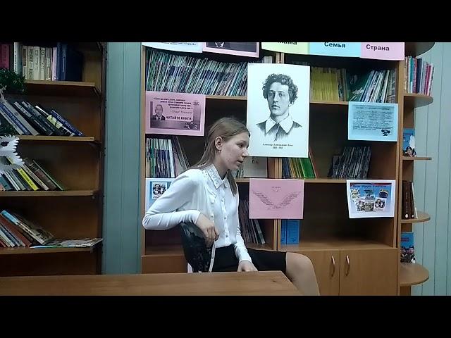 Изображение предпросмотра прочтения – ВикторияБуланова читает произведение «О доблестях, о подвигах, о славе» А.А.Блока