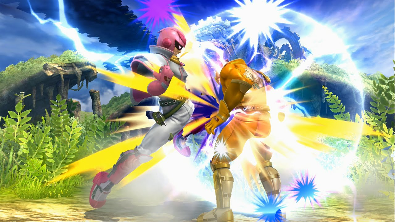 Image result for captain falcon smash 4 knee
