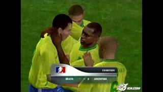 World Tour Soccer 2006 PlayStation 2 Gameplay - Gooooaaaall!
