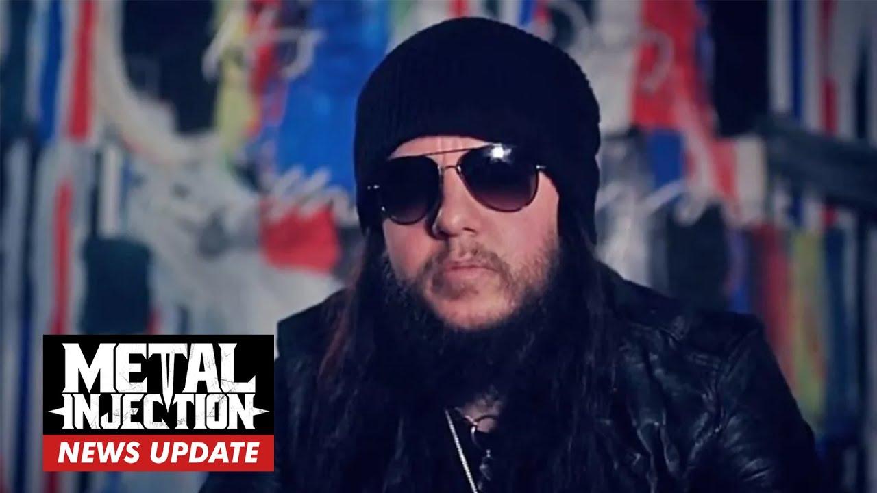 ex-SLIPKNOT Drummer Joey Jordison Passed Away   Breaking News   Metal Injection