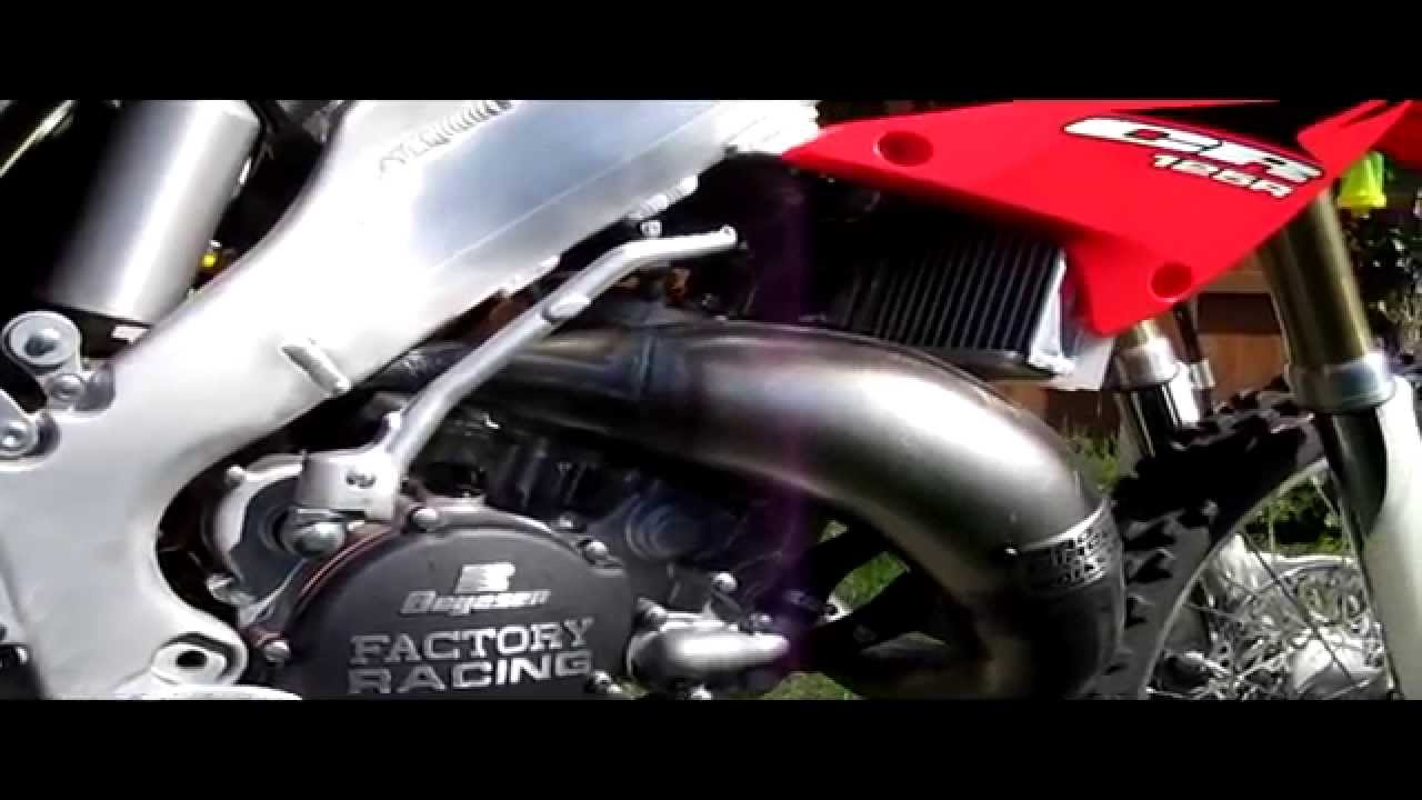 The Collectors Item 2007 Honda Cr125 Bought New In 2010 Youtube