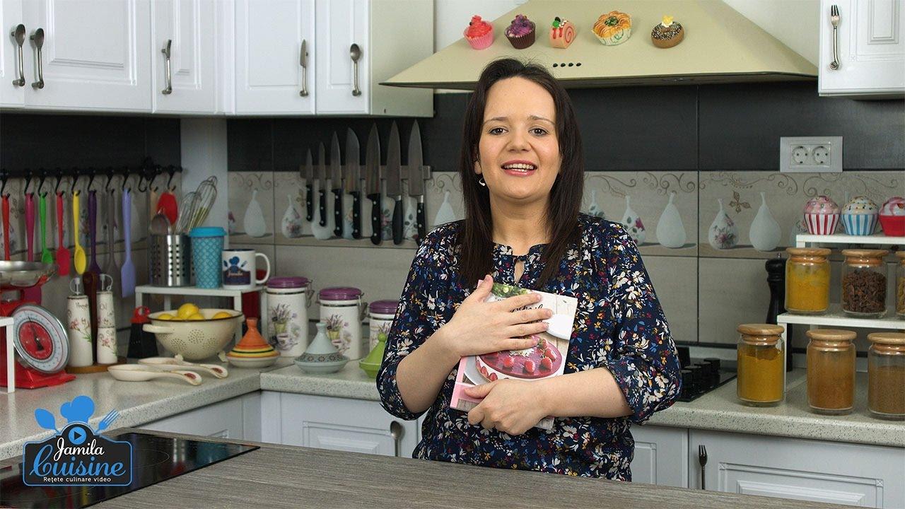 Carte de bucate jamila cuisine cele mai iubite re ete for Video de cuisine youtube