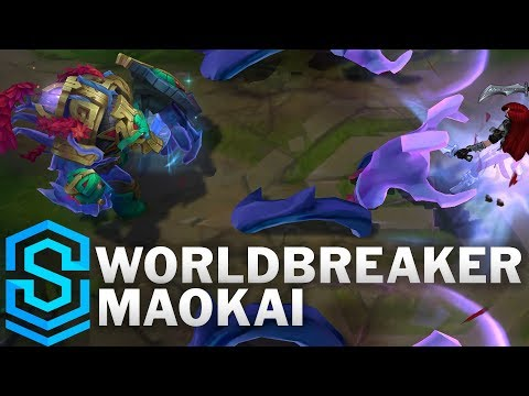 Worldbreaker Maokai Skin Spotlight - Pre-Release - League of Legends
