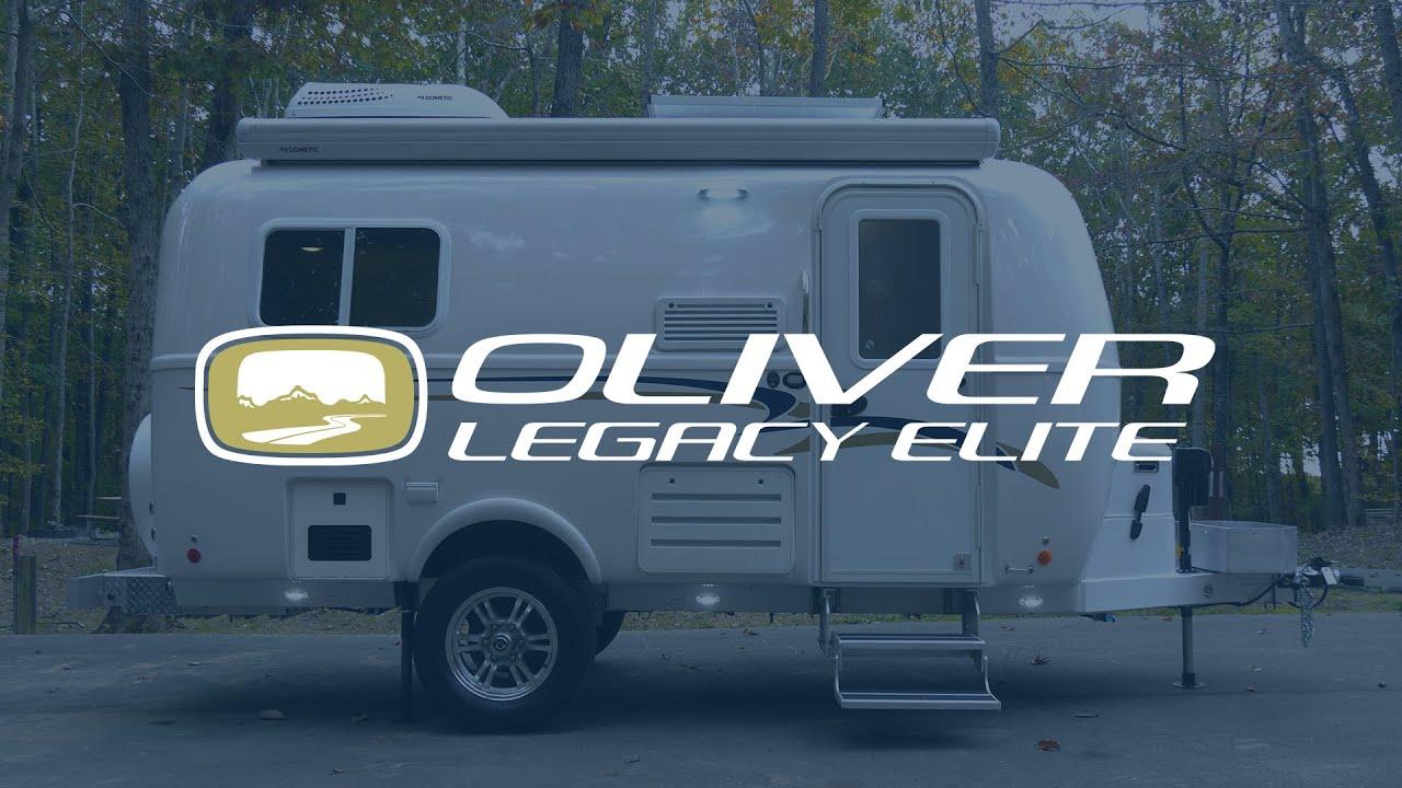 The 2020 Legacy Elite Oliver Travel Trailer Walkthrough Tour