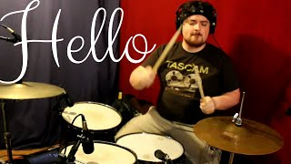 Hello - Adele - DRUM COVER (Feat. Taps Mugadza)