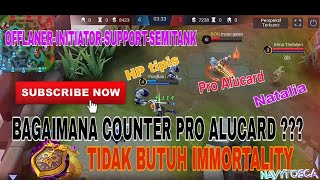 HOW COUNTER PRO ALUCARD? | SUN SPELL & BUILD - Mobile Legends