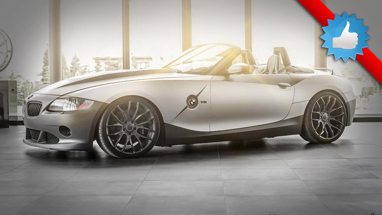 2015 BMW Z4 Rampant by Carlex Design: V8 engine - YouTube