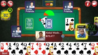 Indian Rummy by Octra, Win the Game Tips & tricks no hack GamePlay in HD - IPhone * Android