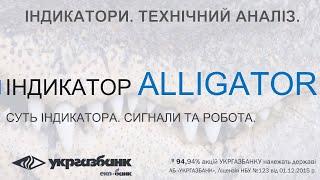 Индикатор Аллигатор. Alligator. ФОРЕКС АБ УКРГАЗБАНК