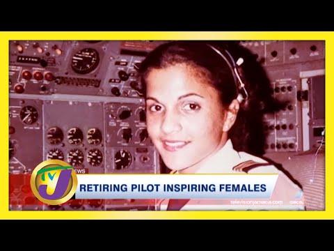 Retiring Pilot Inspiring Jamaican Females   A Ray of Hope - TVJ News