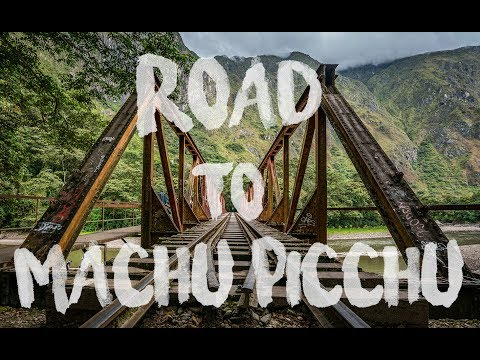 The Lost City - Road to Machu Picchu shot in 6K!
