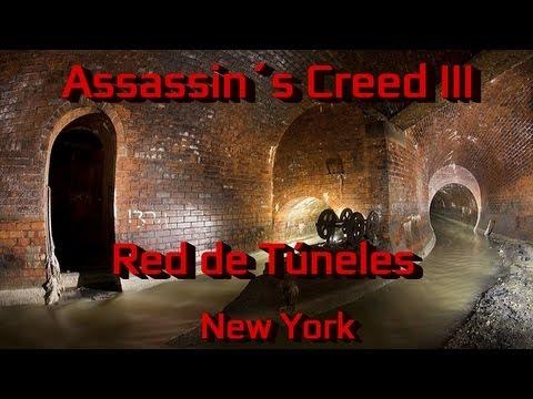 Assassin´s Creed 3 Guía - Assassin´s Creed III 3-Guía Red de Túneles de New York-Viaje Rápido