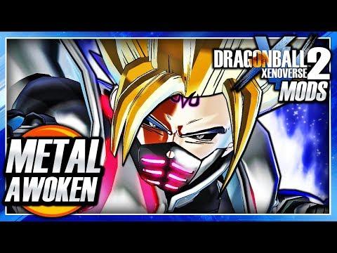 Dragon Ball Xenoverse 2 PC: Ultra Instinct Full Metal Awoken Skill For CaC DLC Mod Gameplay (CUSTOM)