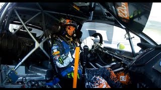 GoPro HD:  Ken Block RallyCross Course Preview – X Games 2012