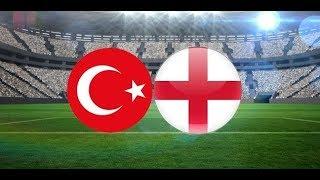 Türkiye 2-3 İngiltere (2021 U21 Avrupa Şampiyonası Eleme Turu  Maçı ) / A Spor / 06.09.2019