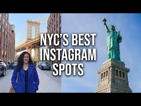 NYC's Top Instagram Spots (Statue of Liberty, Ellis Island, Brooklyn)