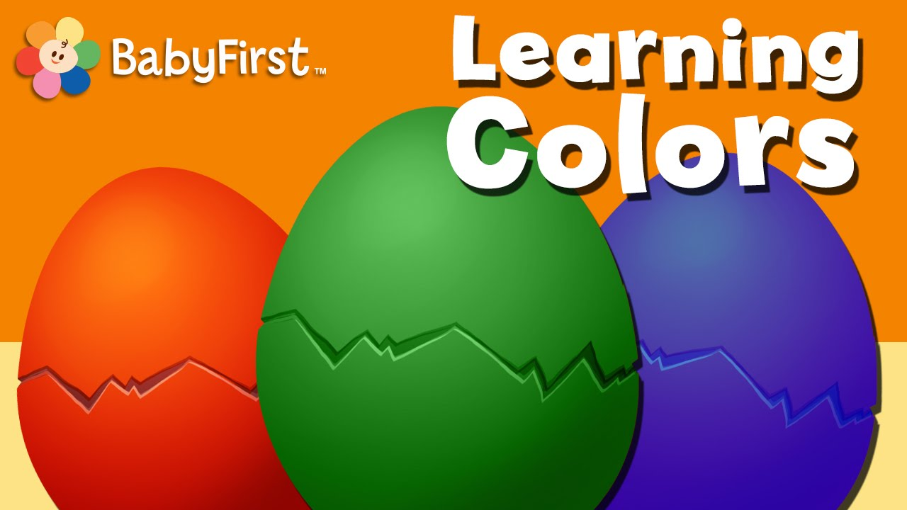 Surprise Egg Toys for Kids to Learn Colors | Fun Learning Colors for ...