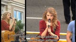 Taylor Swift Long Live lyrics