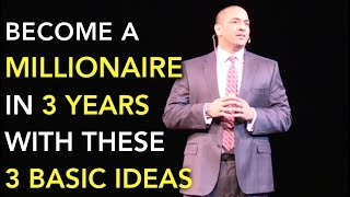 3 Steps to becoming a Millionaire in 3 years | Daniel Ally