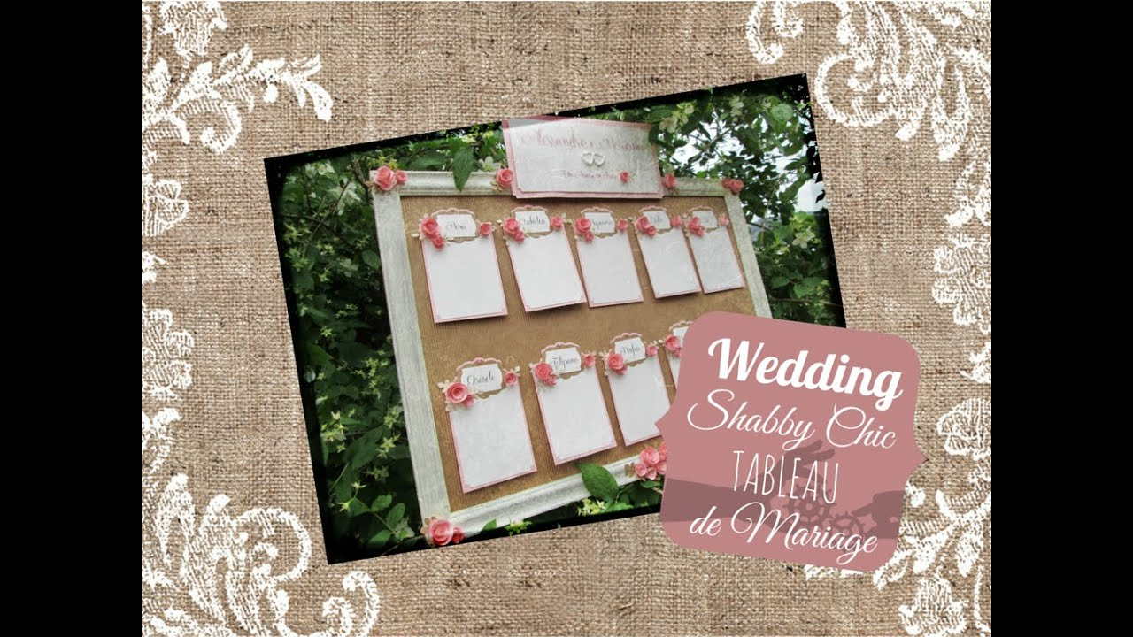 Top The Wedding Room: Tableau de mariage shabby chic - Shabby chic  LL23
