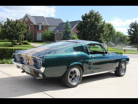 1967 ford mustang fastback restomod classic muscle car for sale in mi vanguard motor sales youtube. Black Bedroom Furniture Sets. Home Design Ideas