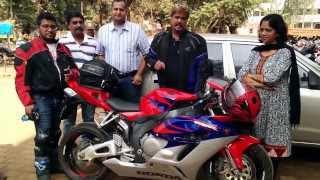 India Bike Week Participant's visit VANISHA HONDA BELGAUM