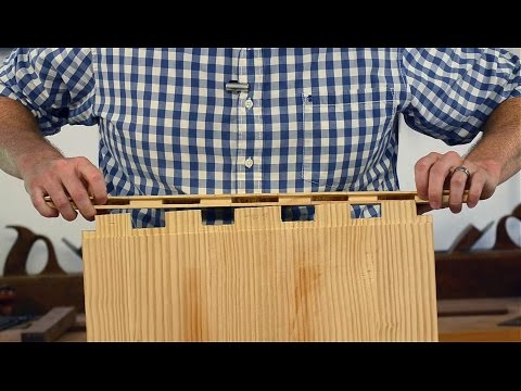 "How to Make Breadboard Ends {Part 15 of ""Build a Dovetail Desk with Hand Tools""}"
