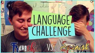 LANGUAGE CHALLENGE | (Québec) French vs Spanish | ChandlerNWilson