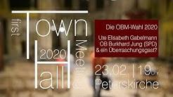 1. Townhall Leipzig am 23. Februar 2020 in der Peterskirche zum OBM-Wahl