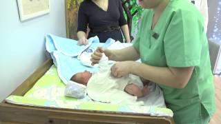 Выписка из роддома (видеосъёмка 8-989-27-27-282)