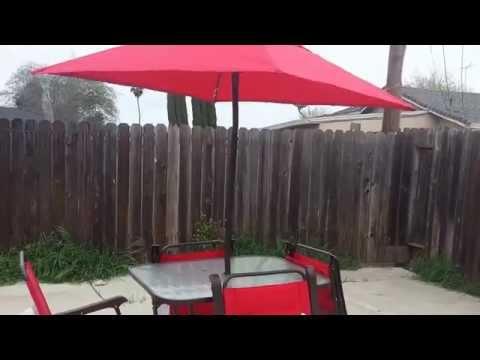 f3ae879eaa63 MainStays Searcy Lane patio set - YouTube