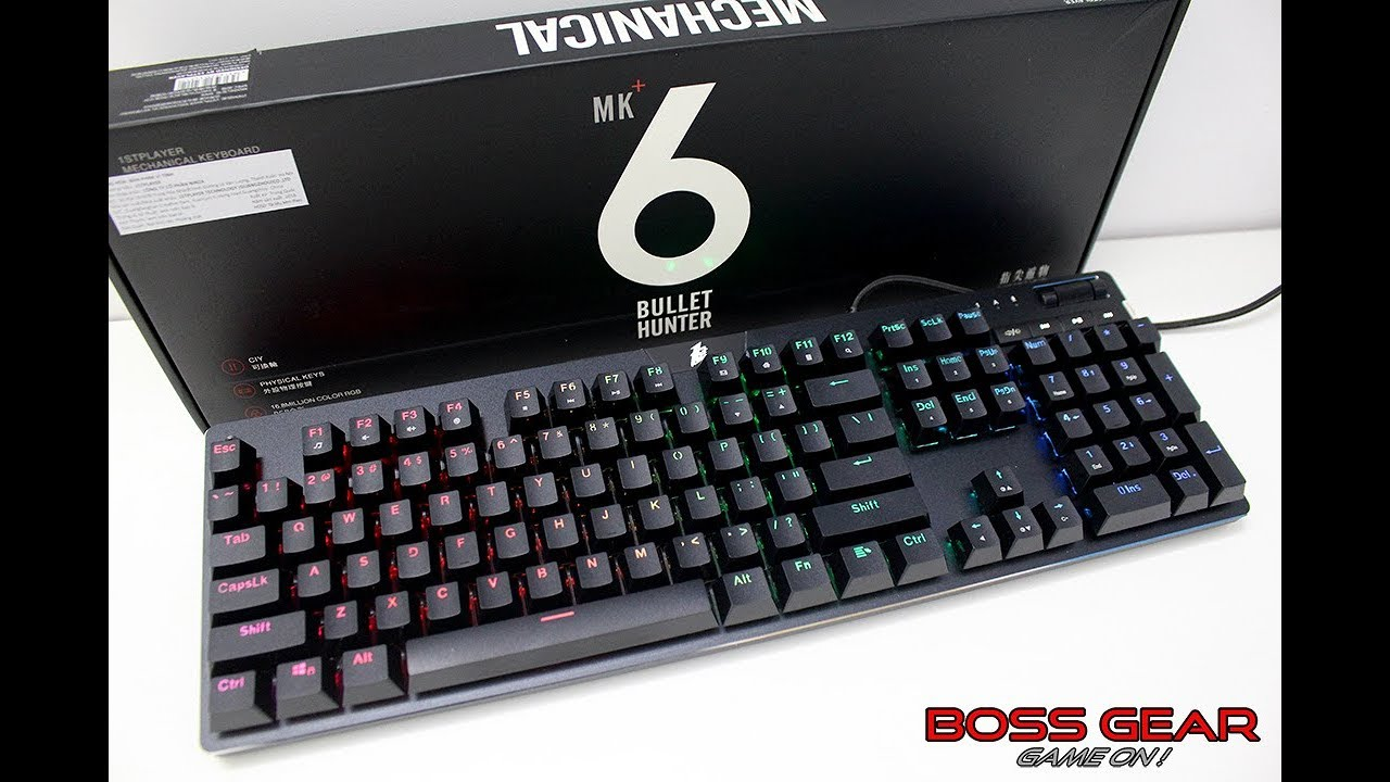 1ST MK6 RGB Bàn Phím Cơ Vượt Mong Đợi Đến Từ Nhà 1ST Player