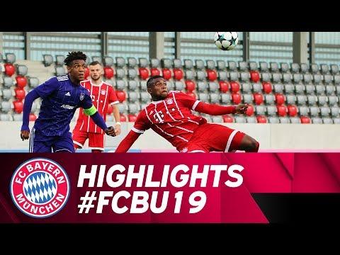 Highlights UEFA Youth League - U19 bezwingt Anderlecht mit 1:0