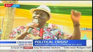President Uhuru Kenyatta commends police for upholding professionalism: Crossfire