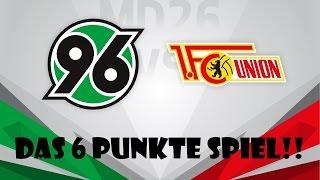 Hannover 96 VS. 1. FC Union Berlin [DAS 6 PUNKTE SPIEL!!] #Stadion V-Log