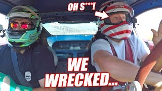 Download I Crashed a Fellow YouTuber's Car... Was Driving for Literally 50 SECONDS! Mp3 and Videos