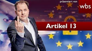 Artikel 13 Axel Voss nennt YouTuber Lügner & spricht von FAKE NEWS | Rechtsanwalt Christian Solmecke