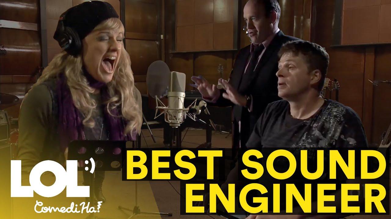 Sound Engineer's Hard Work Part 1 !! LOL ComediHa!