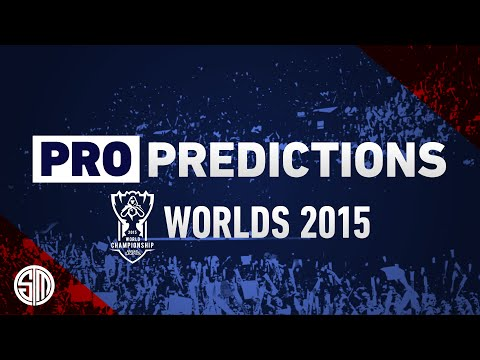 Pro Predictions: Worlds 2015
