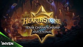 [HTC INVITATIONAL] 결승전 #2 Charon vs Dolling stones (HearthStone)_180415