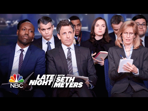 Late Night White House Press Briefing